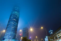 Hong Kong Business District Royalty Free Stock Photography