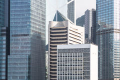 Hong Kong business district Royalty Free Stock Image