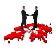 Hong Kong Business meeting vector illustration