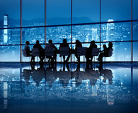 Hong Kong Business Meeting stock photography