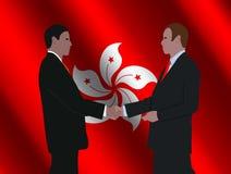 Hong Kong business meeting Royalty Free Stock Image