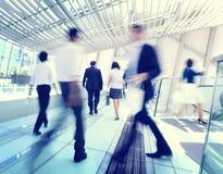 Hong Kong Business People Commuting-Konzept Stockbilder