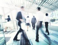 Hong Kong Business People Commuting-Konzept Stockbild