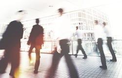 Hong Kong Business People Commuting-Konzept Lizenzfreie Stockfotos