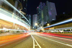 Hong Kong busy traffic Royalty Free Stock Photography