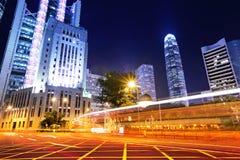 Hong Kong busy traffic Royalty Free Stock Photography