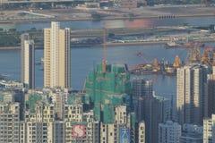 Hong-Kong céntrica Foto de archivo libre de regalías