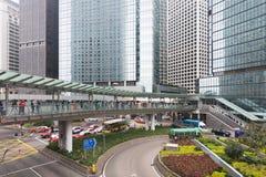 Hong-Kong céntrica Fotos de archivo libres de regalías