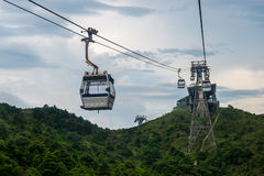 Hong Kong Cable Car Stock Images