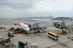 Hong Kong cargo service Royalty Free Stock Image