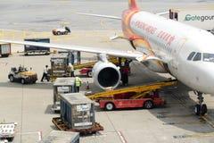 Hong Kong Cargoes service Arkivbild