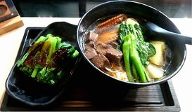 Hong Kong Cart Noodles imagem de stock royalty free