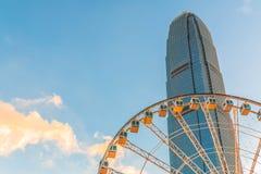 Hong Kong central fotografering för bildbyråer