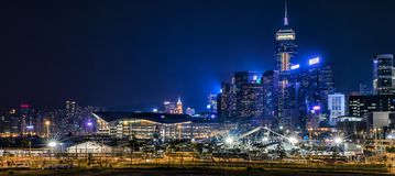 Hong Kong Central Business District Stock Images