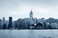 Hong Kong central district skyline Royalty Free Stock Photography