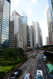 Hong Kong Central Financial District Royalty Free Stock Photos