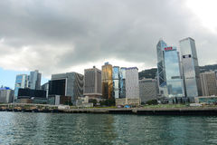 Hong Kong Central Financial District Stock Images