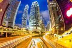 Hong Kong Central Skyline Imagen de archivo libre de regalías
