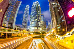 Hong Kong Central Skyline Royalty Free Stock Image