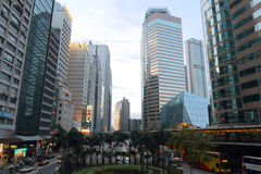 Hong Kong: Centrale Fotografie Stock