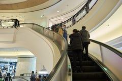 hong kong centrum handlowego zakupy Obrazy Royalty Free