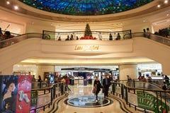 hong kong centrum handlowego zakupy Fotografia Stock