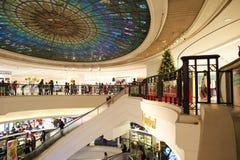hong kong centrum handlowego zakupy Zdjęcia Stock