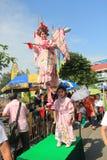 2015 Hong Kong Cheung Chau babeczki festiwal zdjęcia royalty free
