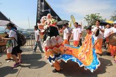 2015 Hong Kong Cheung Chau Bun-Festival Royalty-vrije Stock Afbeelding