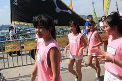 2015 Hong Kong Cheung Chau Bun-Festival Stock Foto