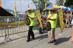 2015 Hong Kong Cheung Chau Bun-Festival Royalty-vrije Stock Foto's