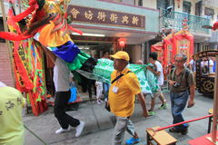 2015 Hong Kong Cheung Chau Bun-Festival Stock Fotografie