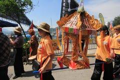 2015 Hong Kong Cheung Chau Bun-Festival Royalty-vrije Stock Afbeeldingen