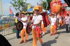2015 Hong Kong Cheung Chau Bun Festival. Event of Cheung Chau Bun Festival, located in Cheung Chau, Hong Kong on May 25th, 2015. Cheung Chau Bun Festival, or Royalty Free Stock Photos