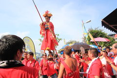 2015 Hong Kong Cheung Chau Bun Festival. Event of Cheung Chau Bun Festival, located in Cheung Chau, Hong Kong on May 25th, 2015. Cheung Chau Bun Festival, or Stock Photography