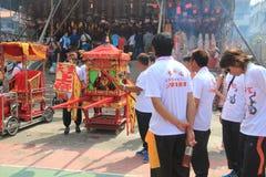 2015 Hong Kong Cheung Chau Bun Festival Royalty Free Stock Image