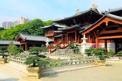 Hong Kong: Chilin-Buddhistnonnenkloster lizenzfreies stockbild