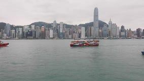 Advertisement Star Ferry stock footage