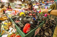 HONG KONG , CHINA - APRIL. 21 : THE PEAK HONG KONG market on Apr Royalty Free Stock Images