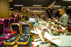 HONG KONG , CHINA - APRIL. 21 : THE PEAK HONG KONG market on Apr Royalty Free Stock Photos