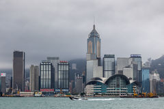 HONG KONG, CHINA/ASIA - 29 FÉVRIER : Vue de l'horizon en Hong photos libres de droits