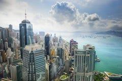 Hong Kong China City Skyline Foto de archivo
