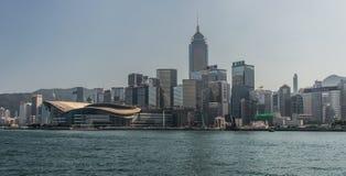 Hong Kong China City Skyline Royaltyfri Foto