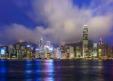 Hong Kong China City Skyline Stock Images