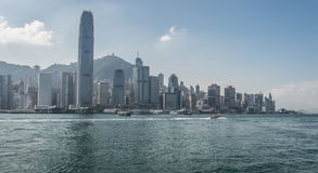 Hong Kong China City Skyline royalty free stock photography