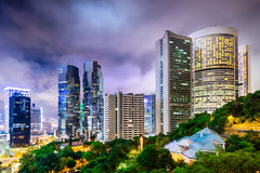 Hong Kong China Cityscape Royalty Free Stock Photos