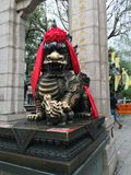 HONG KONG, CHINA - 26 de janeiro: Wong Tai Sin Temple o 26 de janeiro de 2016 em Hong Kong Wong Tai Sin Temple é atrações princip Imagem de Stock Royalty Free