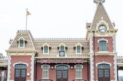 HONG KONG, CHINA - February 07, 2015 : : Hong Kong Disneyland on Royalty Free Stock Images