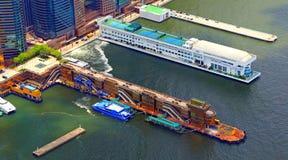 Hong kong - china ferry terminal Royalty Free Stock Photos