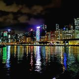 HK Night view Stock Photo